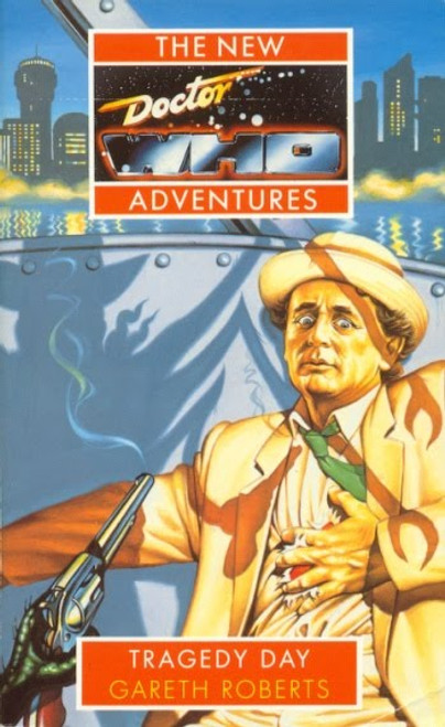 Doctor Who New Adventures Paperback Book - TRAGEDY DAY by Gareth Roberts