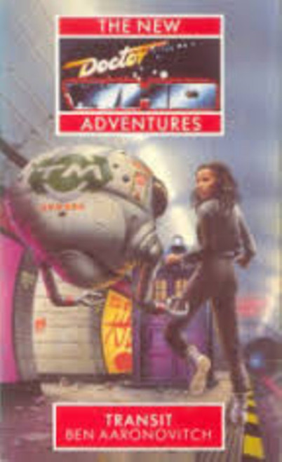 Doctor Who New Adventures Paperback Book - TRANSIT by Ben Aaronovitch