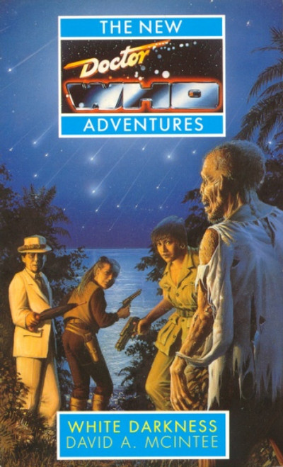 Doctor Who New Adventures Paperback Book - WHITE DARKNESS by David McIntee