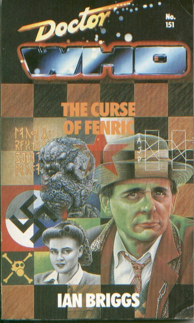 Doctor Who Classic Series Novelization - CURSE OF FENRIC - Original TARGET Paperback Book