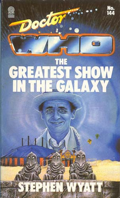 Doctor Who Classic Series Novelization - GREATEST SHOW IN THE GALAXY - Original TARGET Paperback Book