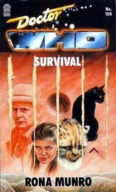 Doctor Who Classic Series Novelization - SURVIVAL - Original TARGET Paperback Book