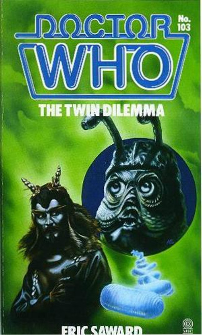 Doctor Who Classic Series Novelization - TWIN DILEMMA - Original TARGET Paperback Book