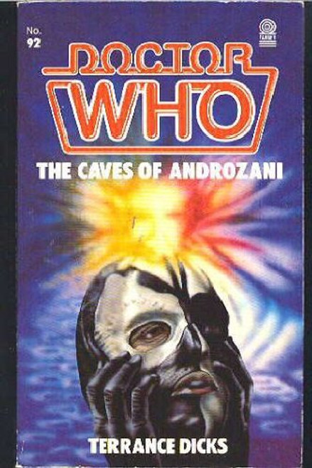 Doctor Who Classic Series Novelization - CAVES OF ANDROZANI - Original TARGET Paperback Book