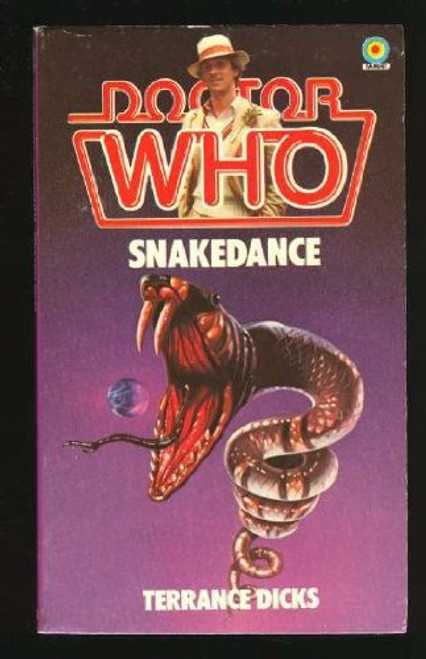 Doctor Who Classic Series Novelization - SNAKEDANCE - Original TARGET Paperback Book