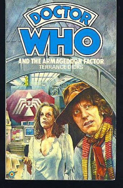 Doctor Who Classic Series Novelization - ARMAGEDDON FACTOR - Original TARGET Paperback Book