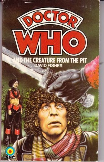 Doctor Who Classic Series Novelization - CREATURE FROM THE PIT - Original TARGET Paperback Book
