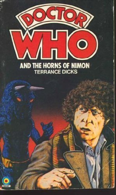 Doctor Who Classic Series Novelization - HORNS OF NIMON - Original TARGET Paperback Book