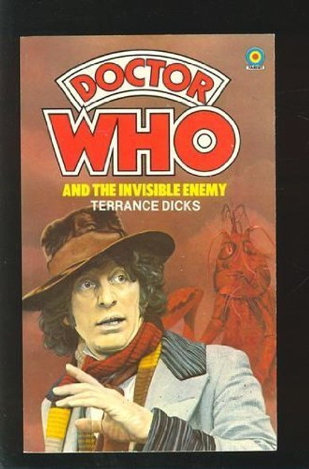 Doctor Who Classic Series Novelization - Original TARGET Paperback Book:  INVISIBLE ENEMY