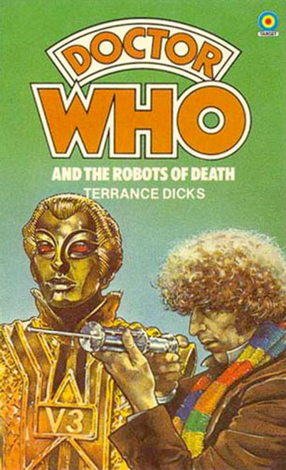 Doctor Who Classic Series Novelization - ROBOTS OF DEATH - Original TARGET Paperback Book