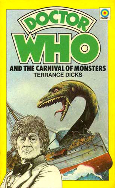 Doctor Who Classic Series Novelization - CARNIVAL OF MONSTERS - Original TARGET Paperback Book