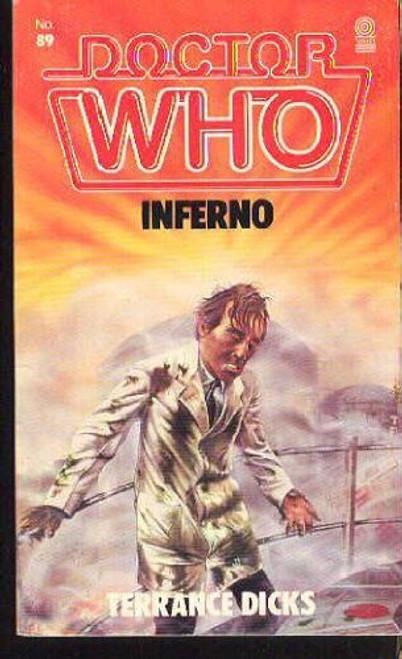 Doctor Who Classic Series Novelization - INFERNO - Original TARGET Paperback Book