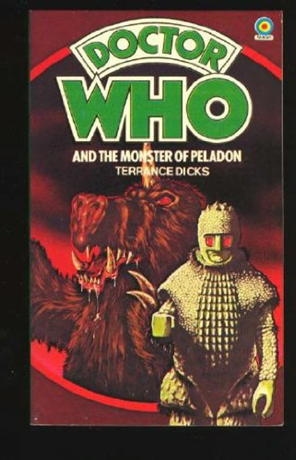 Doctor Who Classic Series Novelization - MONSTER OF PELADON - Original TARGET Paperback Book