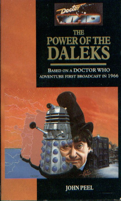 Doctor Who Virgin Paperback Book - POWER OF THE DALEKS