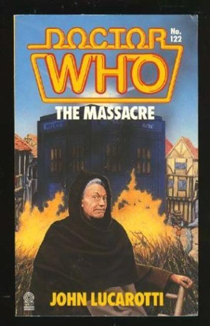 Doctor Who Classic Series Novelization - THE MASSACRE - Original TARGET Paperback Book