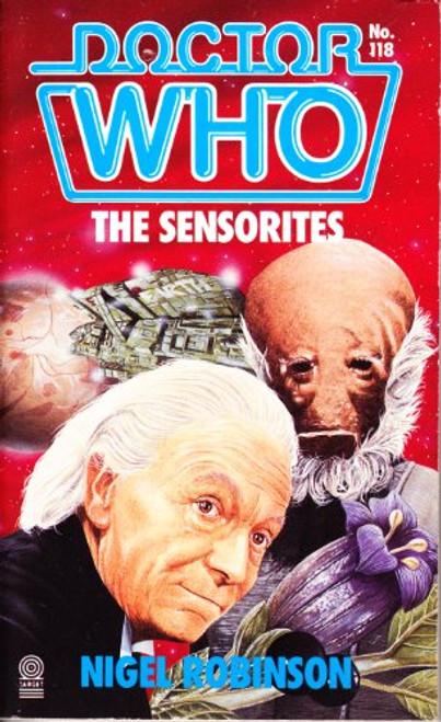 Doctor Who Classic Series Novelization - THE SENSORITES - Original TARGET Paperback Book