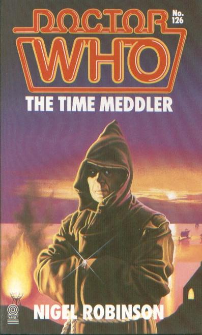 Doctor Who Classic Series Novelization - THE TIME MEDDLER - Original TARGET Paperback Book