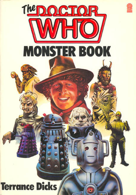 Doctor Who MONSTER BOOK by Terrance Dicks (1985 Edition Softcover)