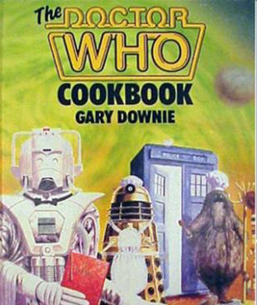 The Doctor Who Cook Book (Softcover) - Vintage 1980s original printing