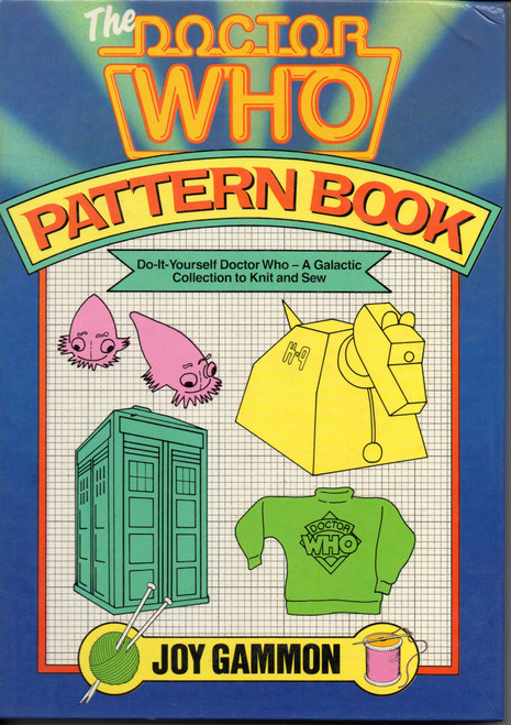 The Doctor Who Pattern Book (Softcover) - Vintage 1986 Original Printing