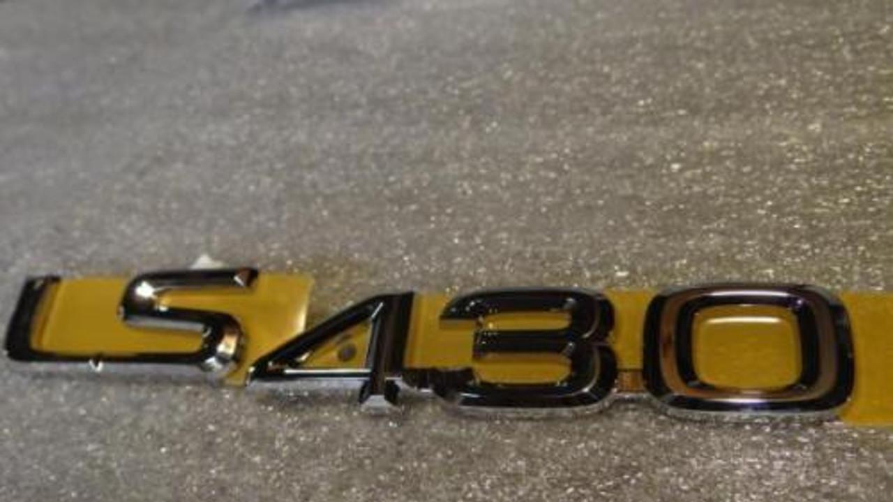 02-07 OEM NEW LEXUS LX470 REAR TRUNK CHROME WORD EMBLEM 03 04 05 06 07