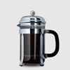 6 Cup Cafetière (850ml) - Glass Body with Stainless Steel Casing