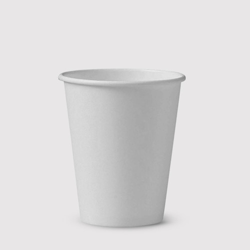 White 8oz Take-Away Cups - Box of 1000