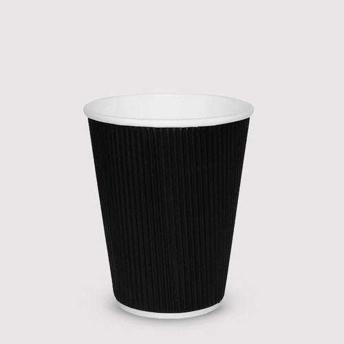 Black 8oz Take-Away Cups - Box of 500