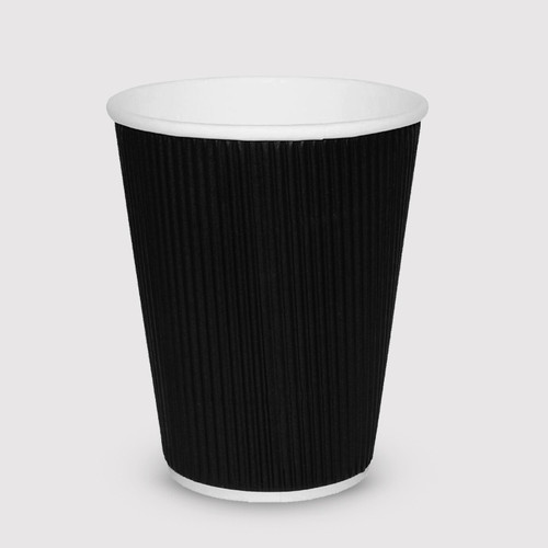 Black 12oz Take-Away Cups - Box of 500