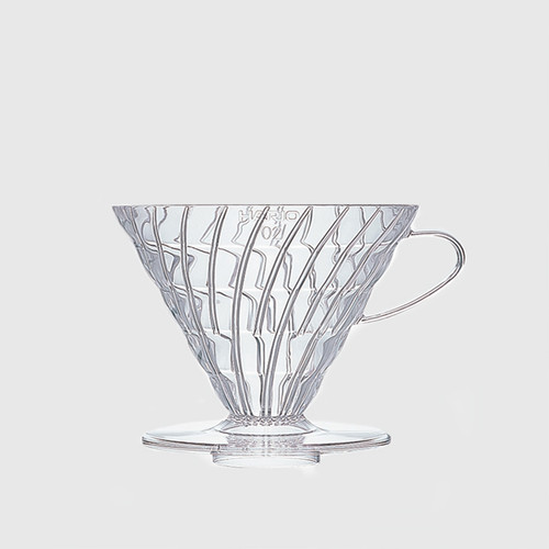 V60 Dripper 02 (1-4 cups) Clear + Filters