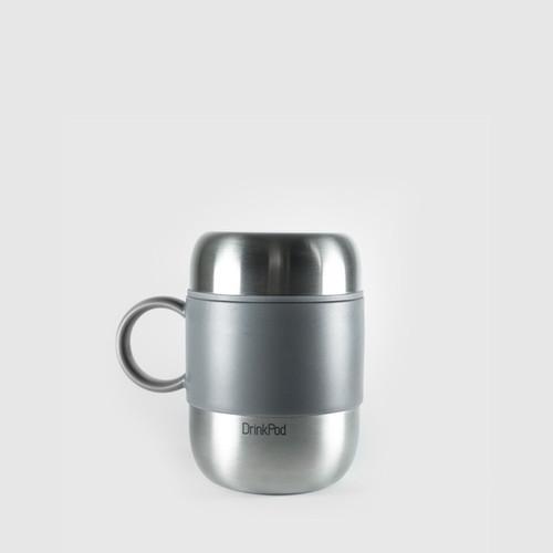 Pioneer Drinkpod 280ml - Silver