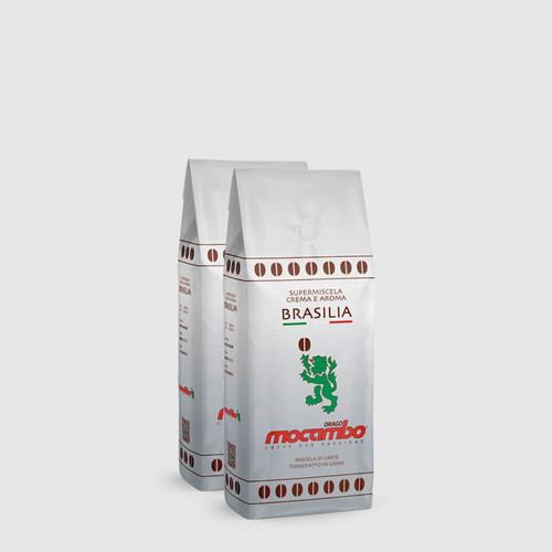 2 bags of Drago Mocambo Brasilia 250g Coffee Beans