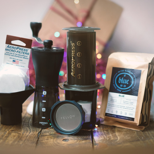 Aeropress + Fellow + Grinder Gift Set