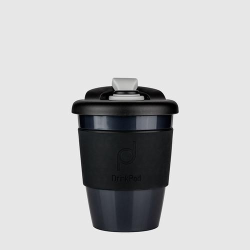 DrinkPod 340 ml Reusable Plastic Cup - Night / Black