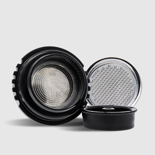 Bottomless 2-in-1 Portafilter and Stainless Steel Screen
