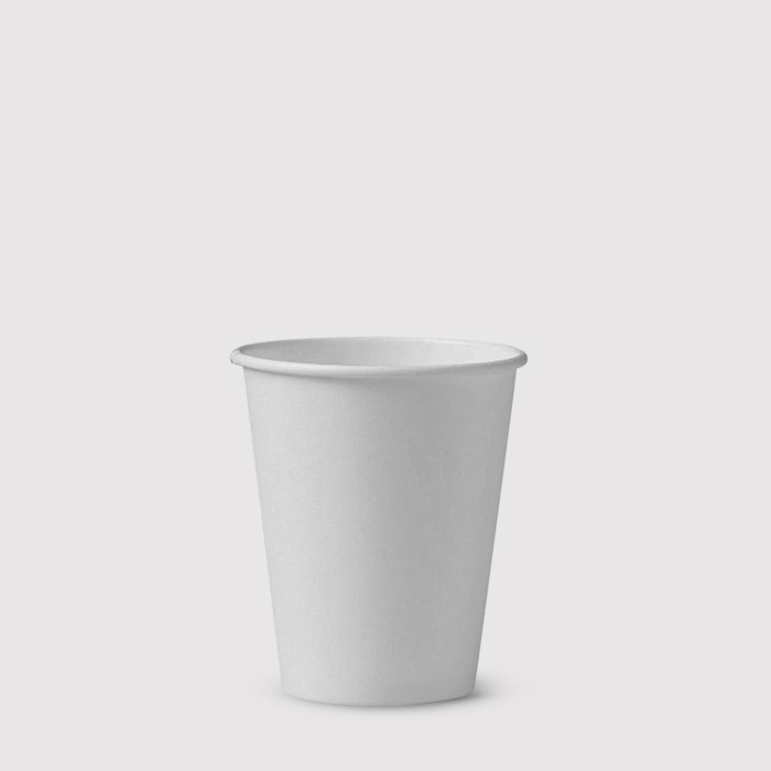 White 4oz Take Away Cups - Box of 1000