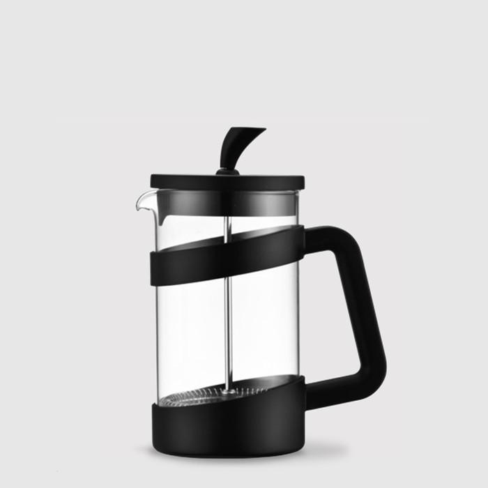 3 Cup Cafetière (350ml) - Café Ole Style - Black