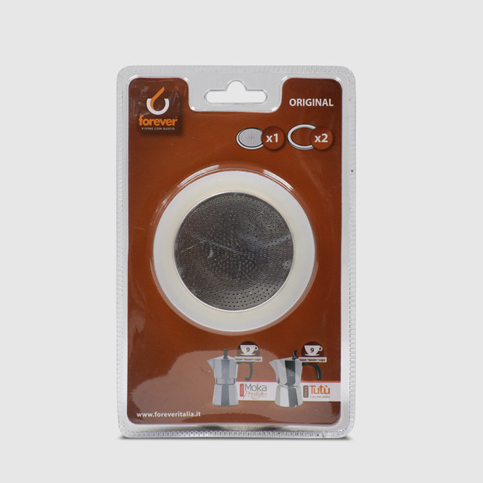 9 Cup Replacement Gasket for Moka Prestige