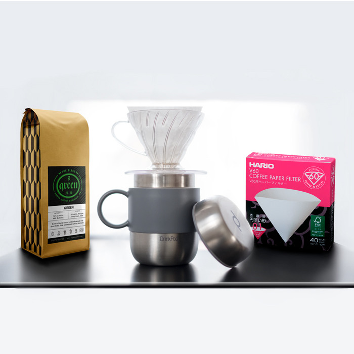 Drinkpod+V60+Filters+Coffee Gift Set