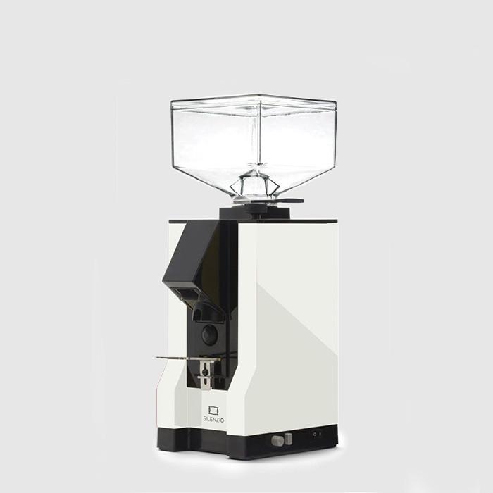 Eureka Mignon Silenzio 15BL Coffee Grinder 50mm Burrs (White)