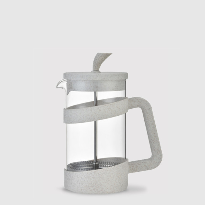3 cups Cafetiere - Cafe Ole Style - Cream