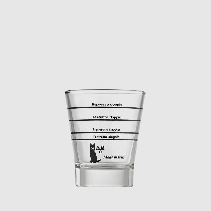 Lined Graduated Espresso Glass
