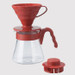 V60 Pour Over Kit (1-4 cups) 600ml - Red