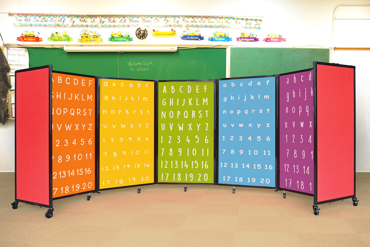 Custom-Printed Room Divider 360 Portable Partition