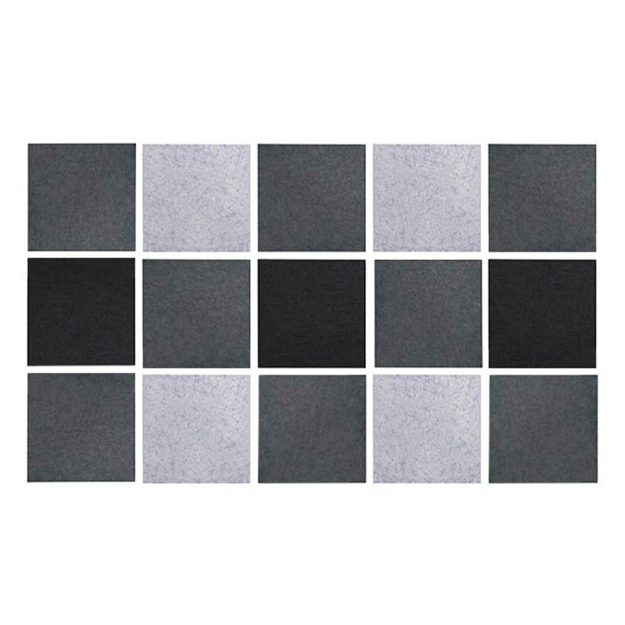 Wall-Mounted Acoustic Panels - Square & Rectangle