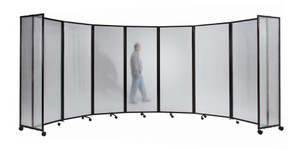 Medi Room Divider 360 Accordion Portable Partition