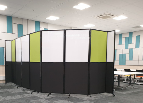 Room Divider 360 Accordion Portable Partition