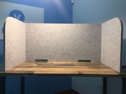 Tri-Fold Desktop Panel - SoundSorb