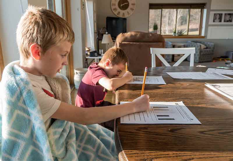 Creating a Homeschool Classroom Setup