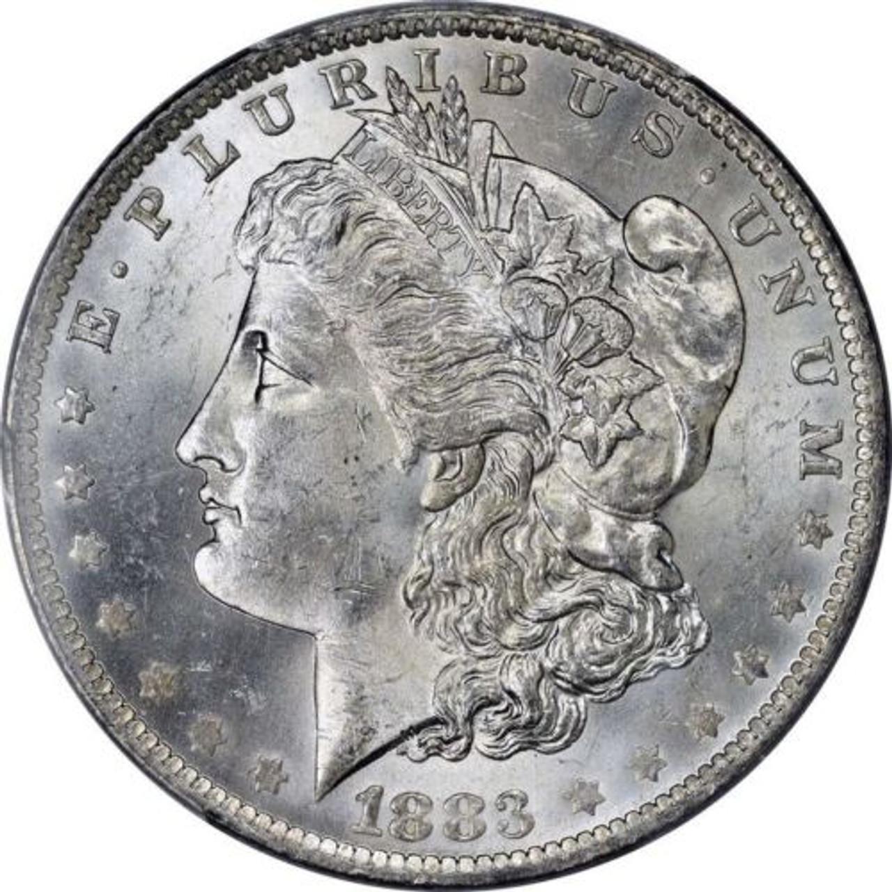 BU 1883-P Morgan Silver Dollar Brilliant Uncirculated